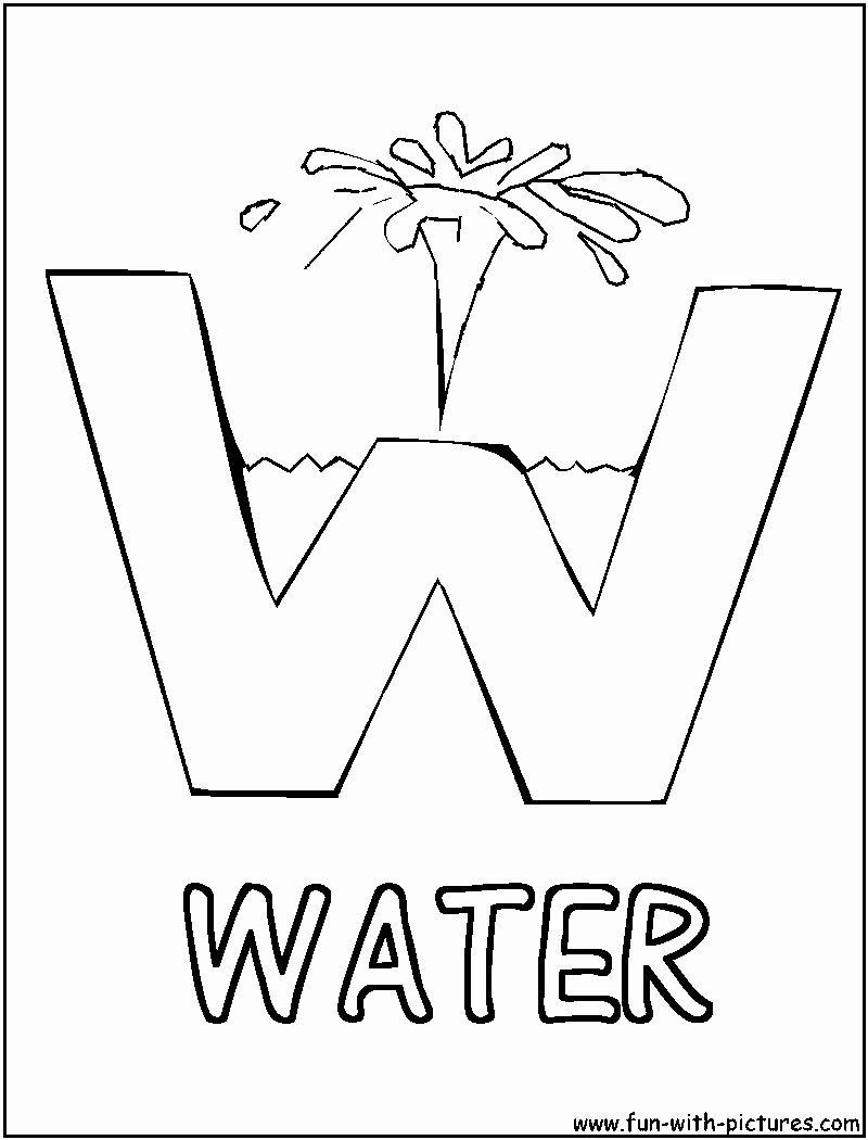 Letter W Coloring Worksheet In 2020 Preschool Letters Letter Activities Preschool Letter W Activities [ 1050 x 800 Pixel ]