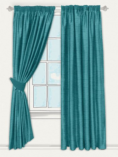 Real Silk Kingfisher Curtains by tuiss ® | Luxury fabrics, Beautiful  fabric, Curtains