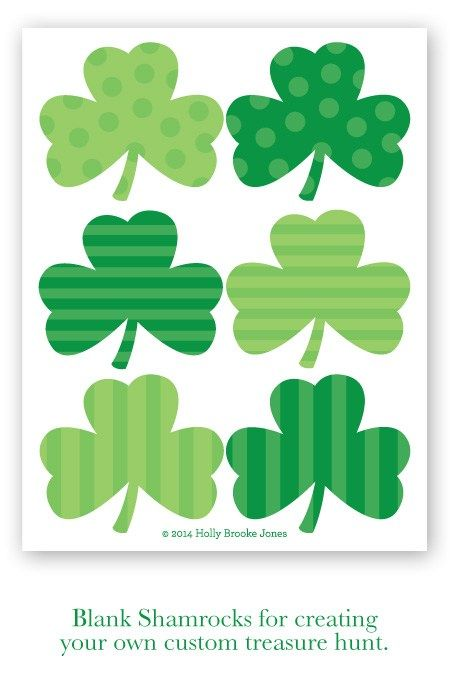 image about St Patrick's Day Clover Printable known as Pin through Brandy Hartman upon St. Pattys Working day St patricks working day