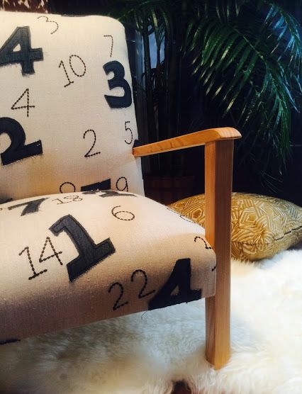 Sorrento Furniture: Google+ Beautiful Chair With Our Numbers Fabric From  BAM BAM | BIMBO Collection