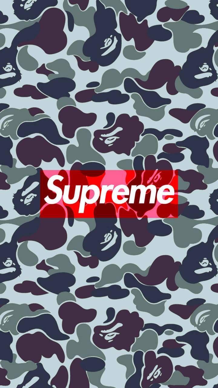 Bathing Ape Supreme wallpaper by Littlepyro001 - cf - Free on ZEDGE™