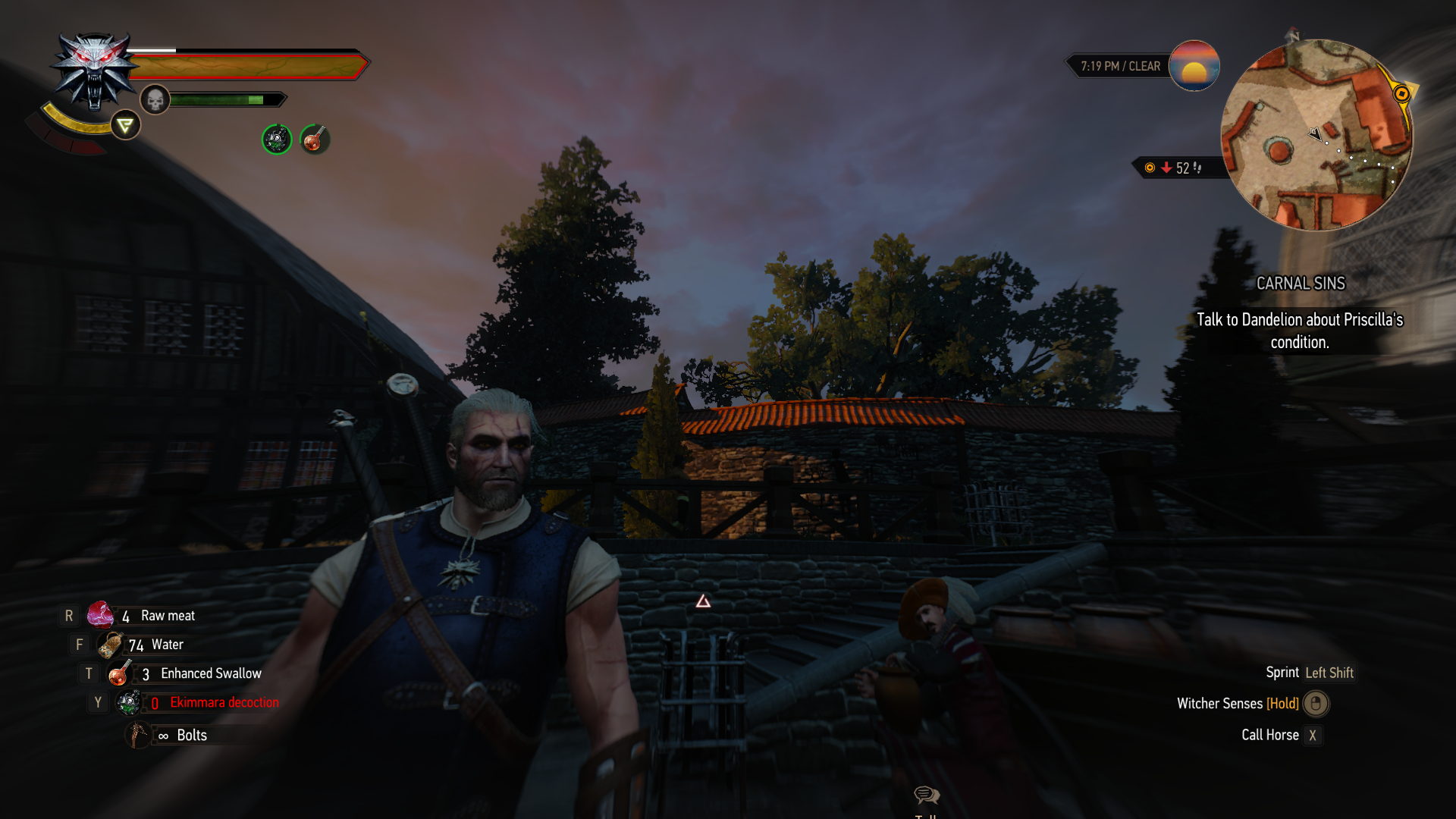 Looking for a mod that gives this effect on Geralt's face at