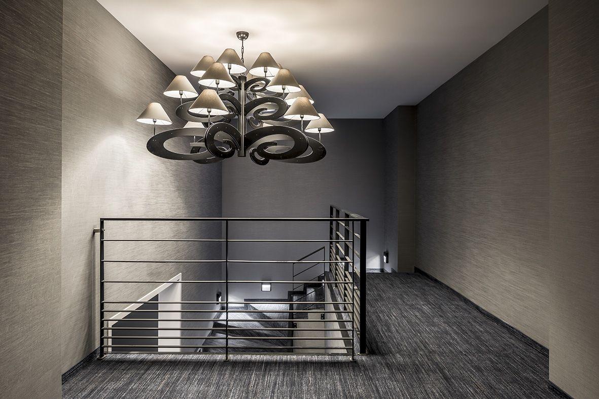 Ilfari lazy sunday chandelier by congres hotel van der valk in
