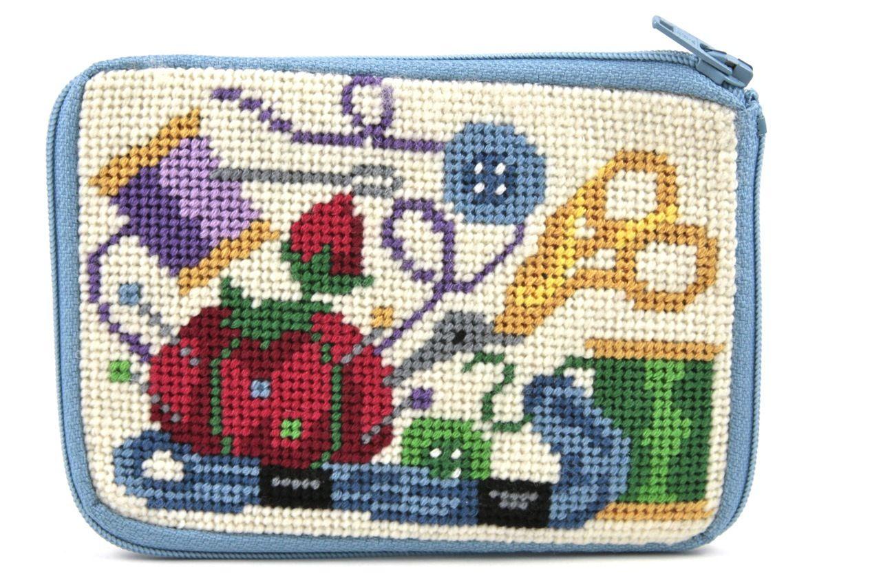 Ladybug Needlepoint Kit Coin Purse