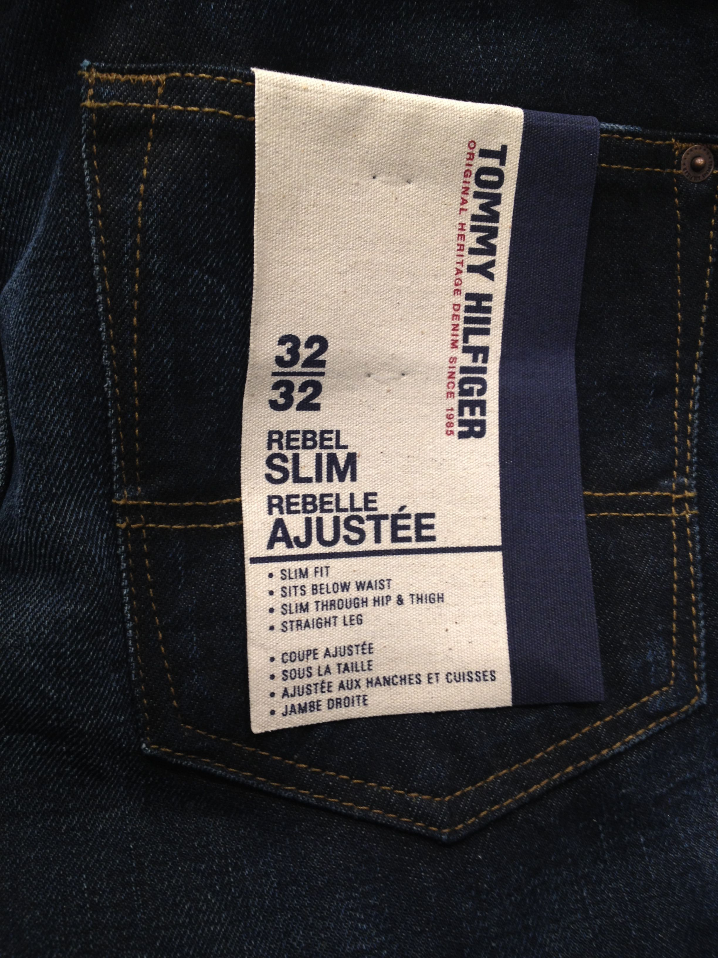 Tommy Hilfiger Denim Pocketflasher Branding Denim