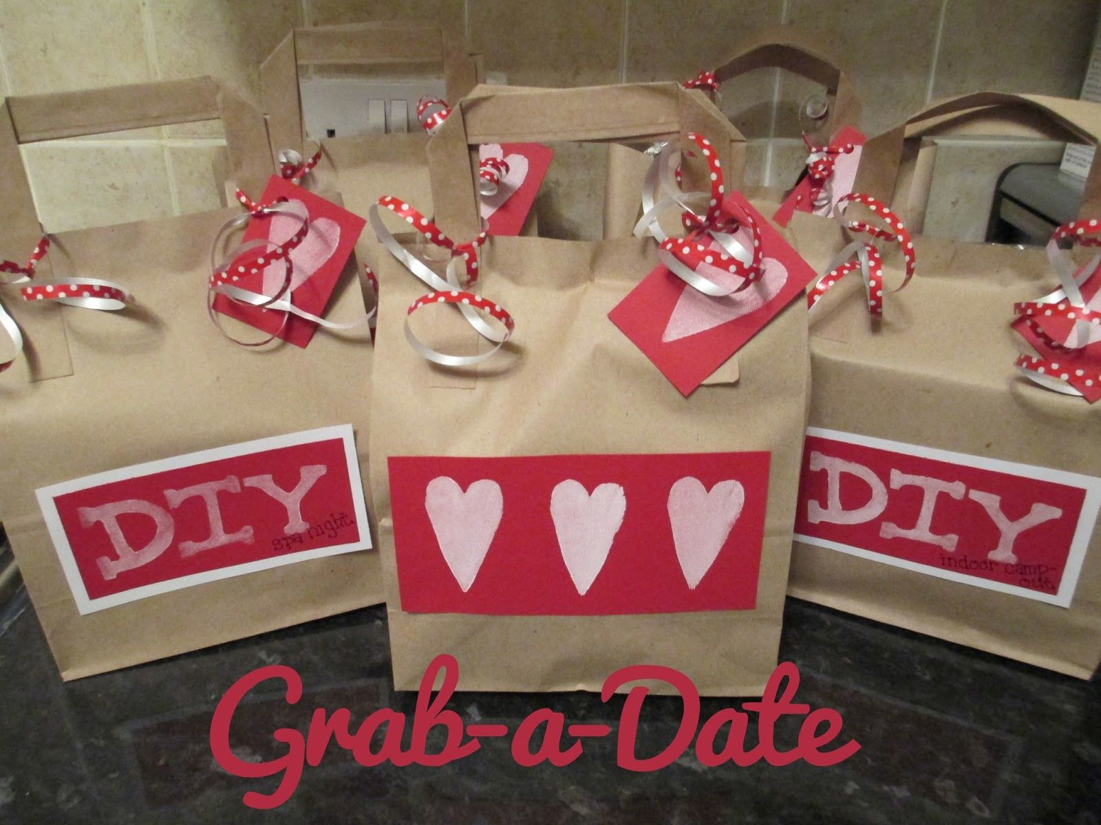 Grab a date gift bags date night gifts gifts christmas