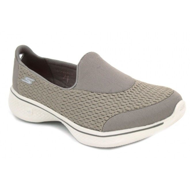 Skechers 54152 - Chaussures Homme Synthétique, Gris, Taille 45 3e Eu