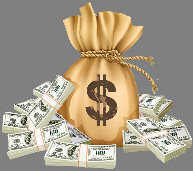 Meshok Dollary Delat Dengi Bogatstvo Kak Sdelat Karty