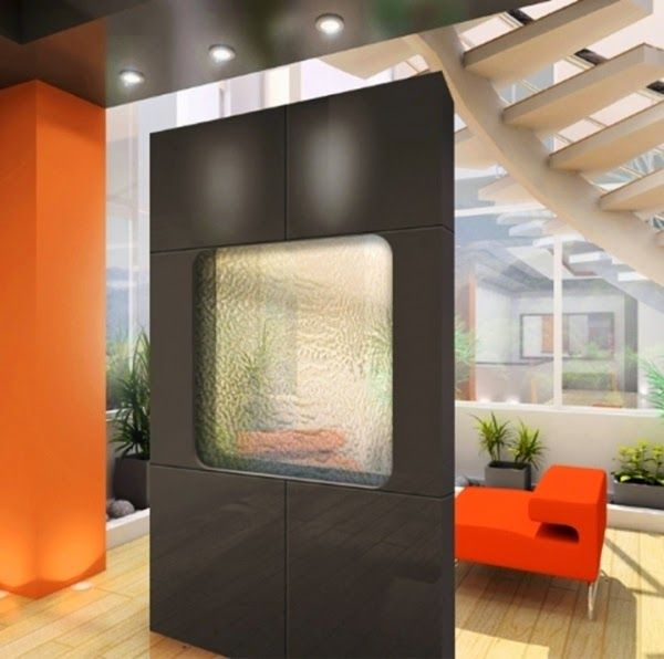 Wood Partition Walls modern wooden partition wall design with smoked glass part | wall