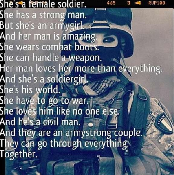 Yes, we sure the hell are. | Lift me ups | Female army soldier