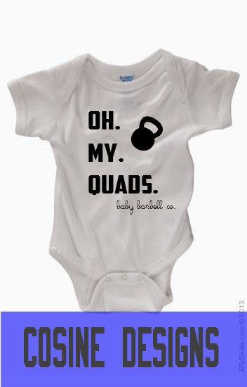 7e9b9ebc2 Oh My Quads Baby Onesie Bodysuit