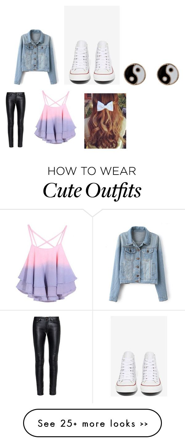 """Cute Saturday Outfit"" by megpearson on Polyvore"