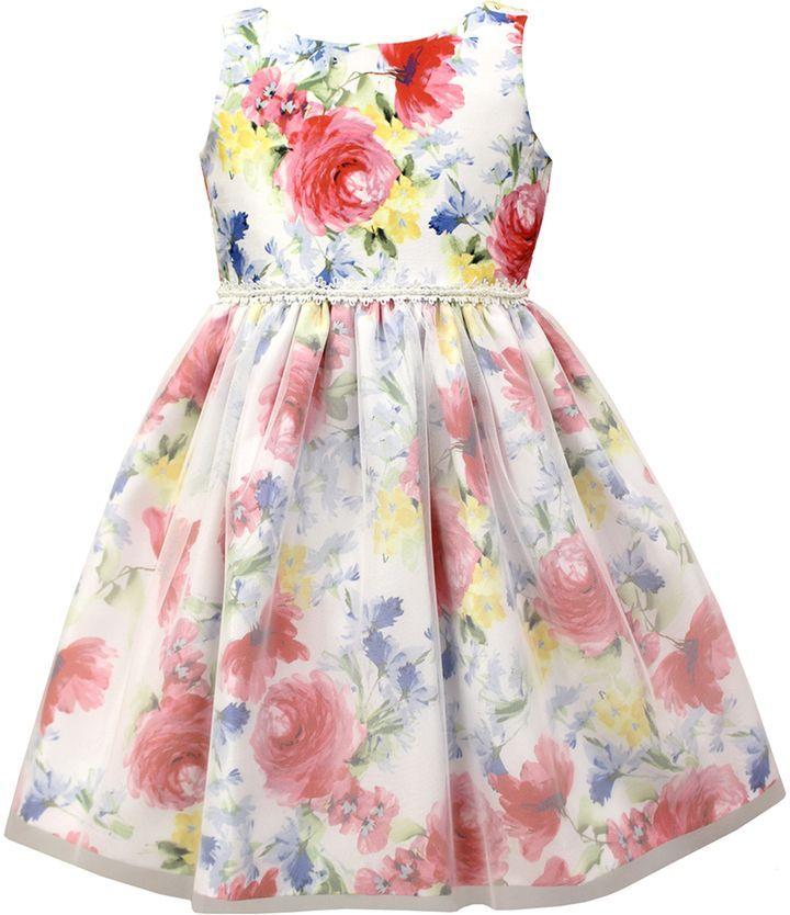 a722ac5d0b Jayne Copeland Print with Overlay Dress