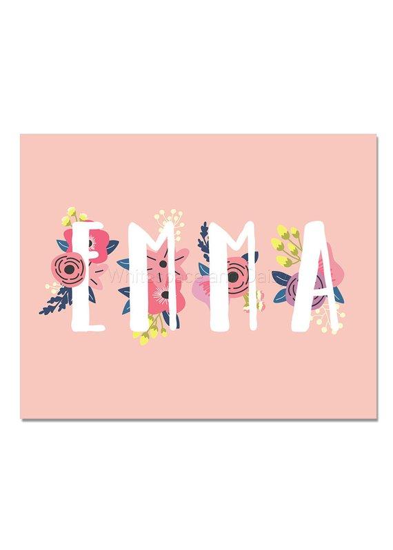 273ca23b3617 Emma Baby Name Wall Art Emma Baby Name Sign Emma Party Printable Emma Party  Decorations Emma Art