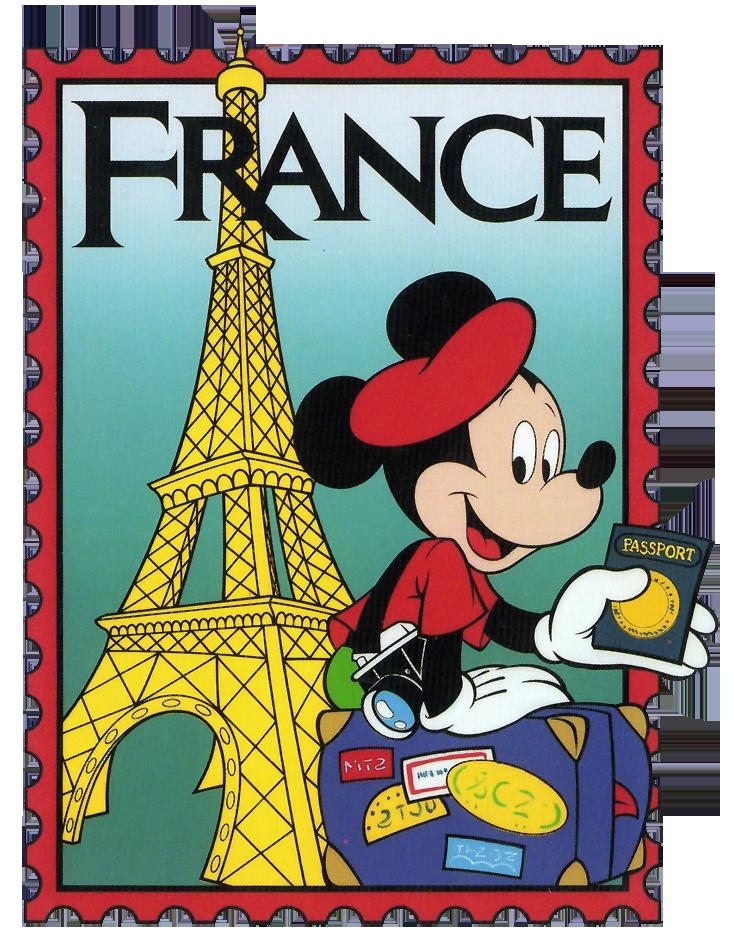 epcot mickey france stamp clip art | International Mickey ...