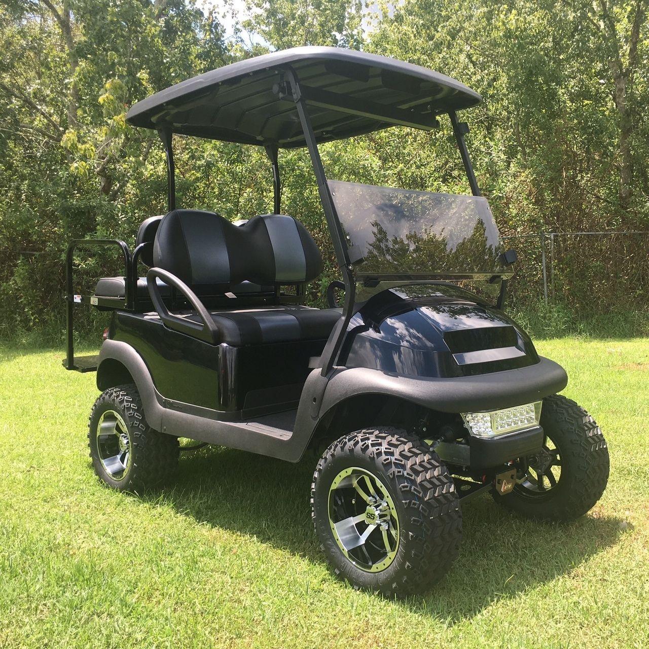 Club Car Precedent 4 Passenger Golf Cart Lifted Black Golf Cart Free Shipping 17l Blk Golf Carts Golf Cart Accessories Club Car Golf Cart