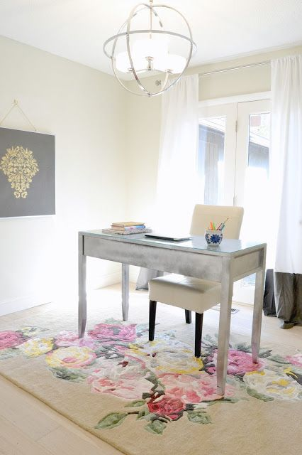 Home Office Decorating Ideas: My Latest Office Makeover