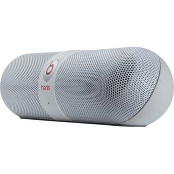 Beats Audio Pill Capsule Shaped Lightweight Bluetooth Wireless Portable Speaker with Internal Mic for Conference Calls. Want it? Own it? Add it to your profile on unioncy.com #tech #gadgets #electronics #gear