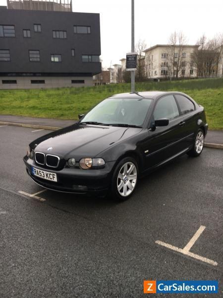 2003 BMW COMPACT 318 TI SE BLACK 2.0 PETROL M SPORT #bmw ...
