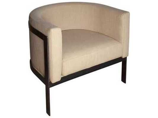 Noir Furniture Lisbon Cream Club Chair