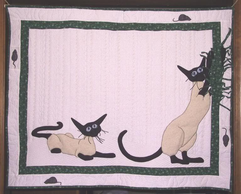 ForestJane Designs: Siamese Cat Quilt