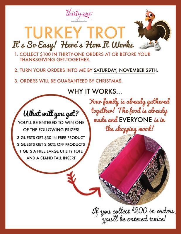 I M Running An Awesome Incentive With Thirty One Right Now Collect At Least 100 In Orders Over Thanksgiving A Thirty One Gifts Thirty One Thirty One Business