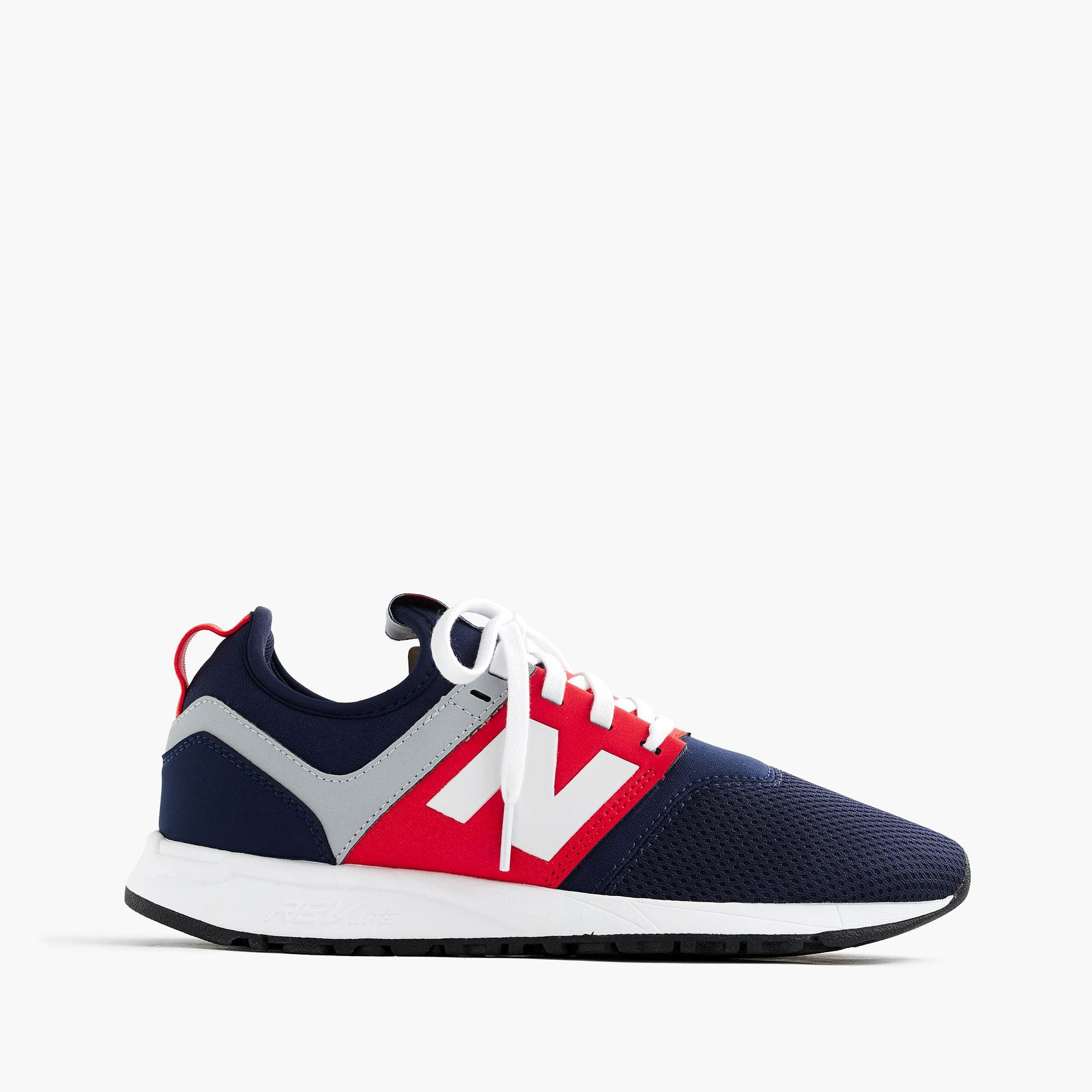 NEW BALANCE® for J.Crew - Women's 247 Sneakers in Blue/Red/