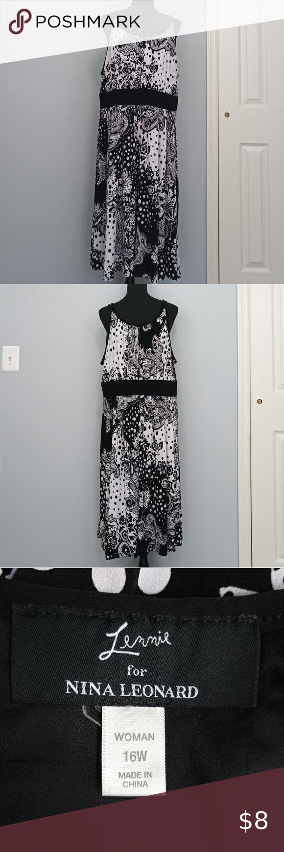 Stretchy Black And White Dress Black N White Dress White Dress Dresses [ 1740 x 580 Pixel ]