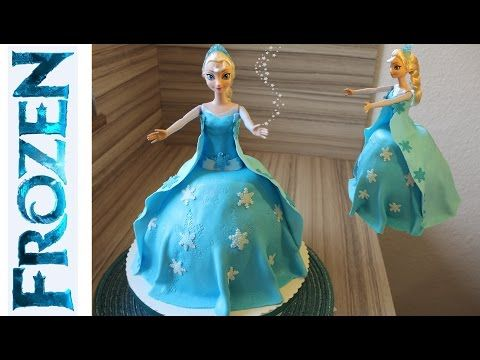 elsa die eisk nigin torte fondant selber machen anleitung deutsch youtube anna und elsa. Black Bedroom Furniture Sets. Home Design Ideas