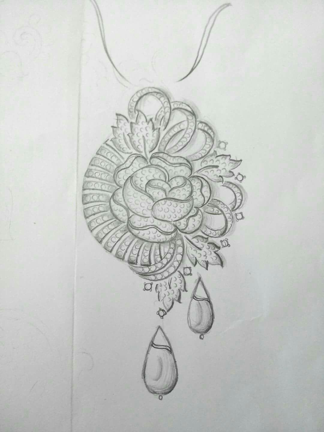 Jewellery Designs Jewelry Design Drawing Jewellery Sketches
