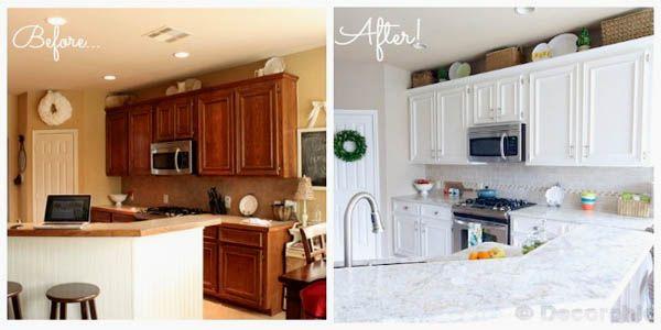 17 kreative vorher nachher Küchenumbauten   Creative ideas ...
