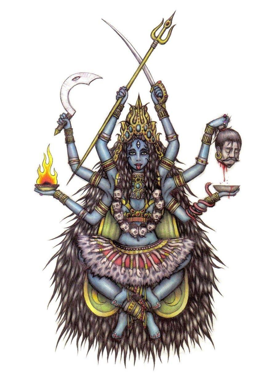 Goddess kali paper