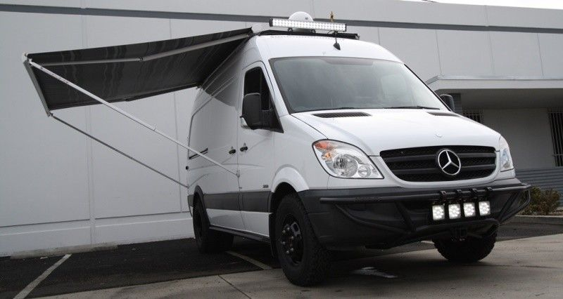 Fiamma F65s Top Mount Awning Manual 144 Quot Our Sprinter