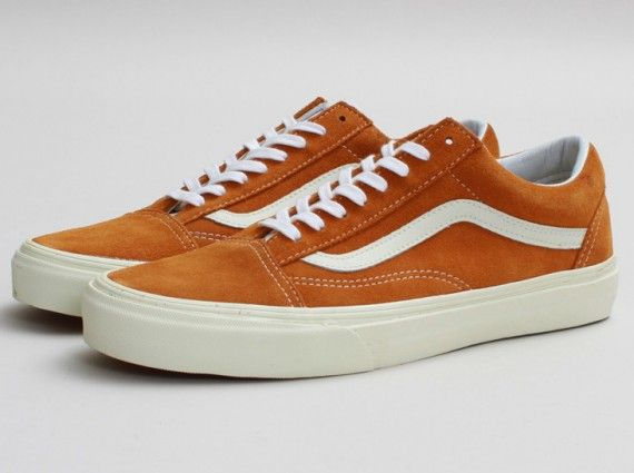 vans old skool brown