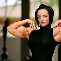 tarna alderman biceps flex muscle fitness  body