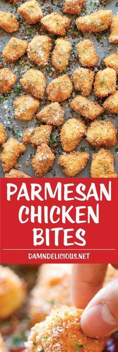 Parmesan Chicken Bites images