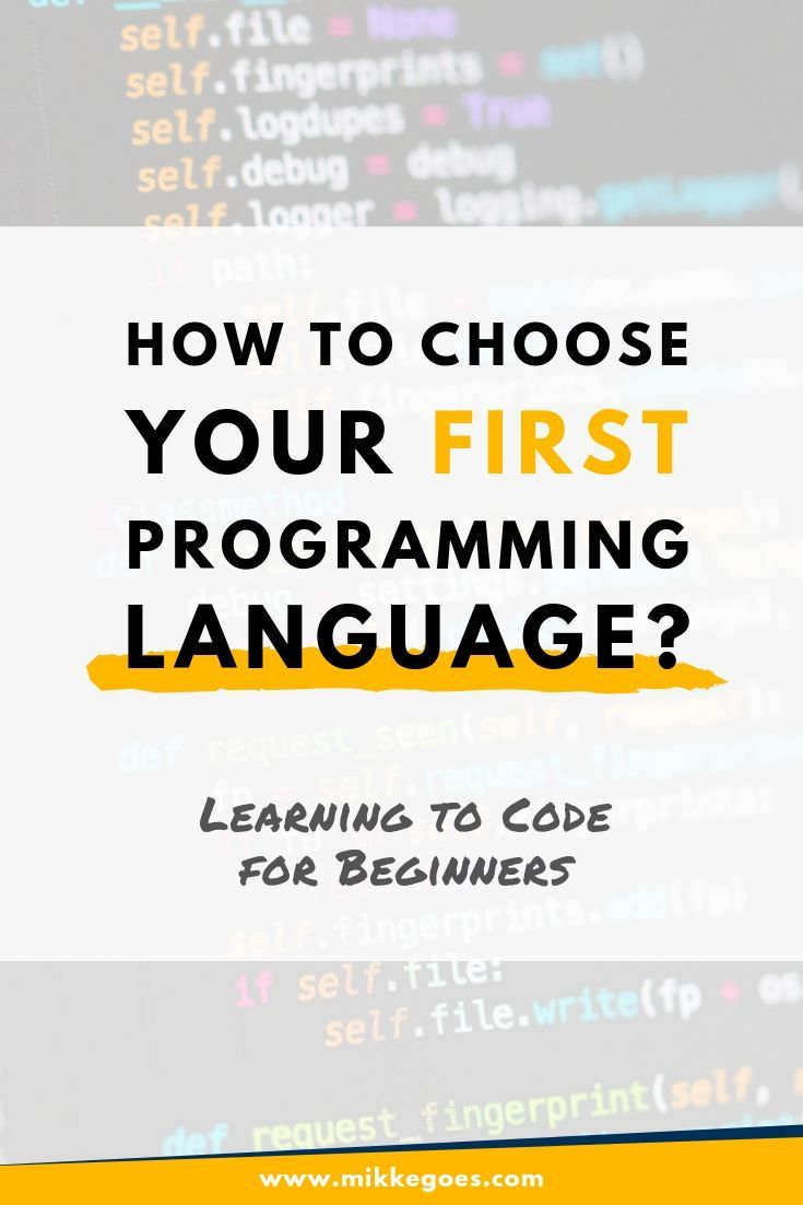 4 timesaving steps to choose your first programming