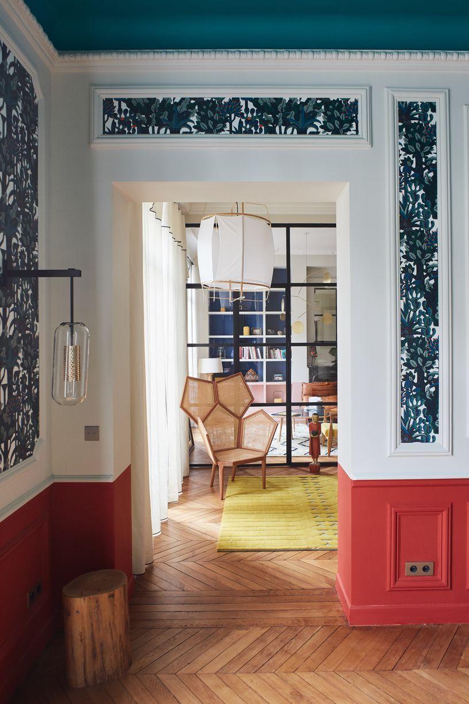 appartement parisien de 320m2 gcg architectes malesherbes pinterest appartements. Black Bedroom Furniture Sets. Home Design Ideas