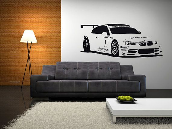 Audi Sports Cars Out Door Large Wall Art Wall Decal Car Vinyl