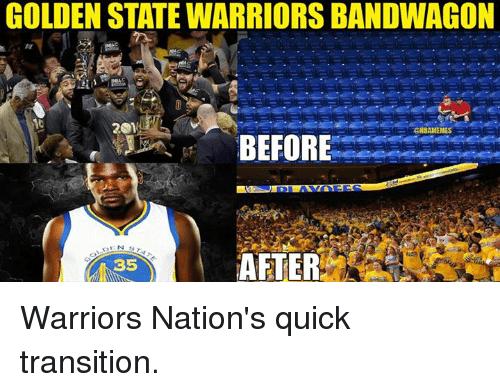 Bandwagon Golden State Warriors Fans Dub Nation
