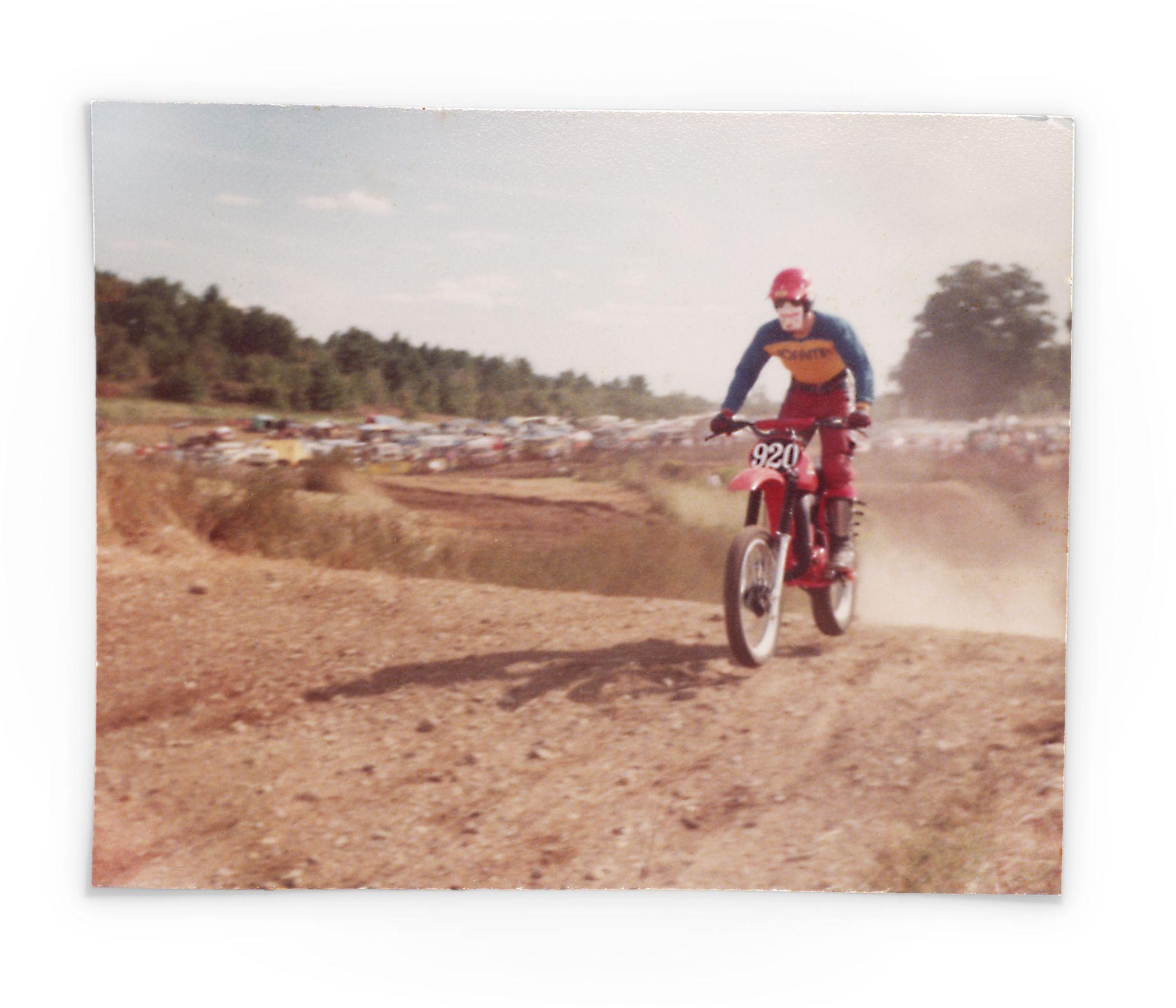 Ralph Lucier Honda Cr250 Racing At Pepperell Ma Vintage Motocross Motocross Pepperell