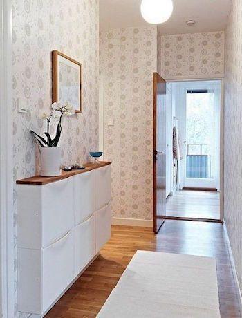 10 Idees Pour Amenager Un Couloir Etroit Idee Deco Couloir Meuble Couloir Decoration Long Couloir