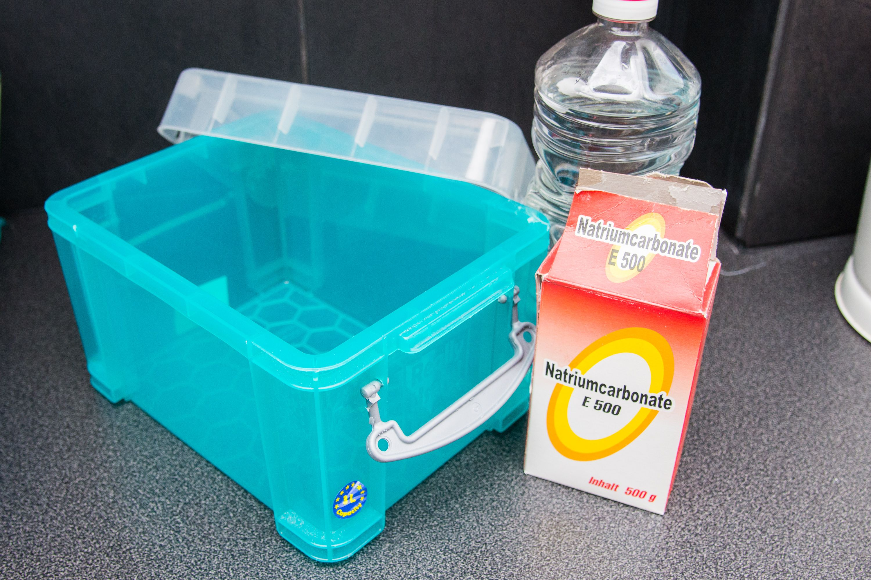 How to make a homemade liquid fabric softener liquid