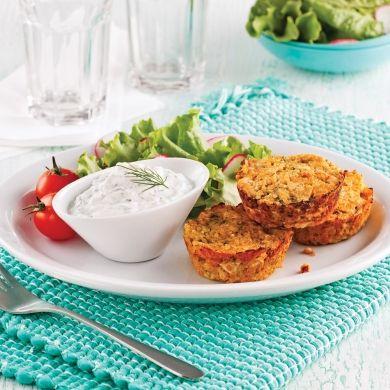 Galettes de poulet au quinoa - Soupers de semaine - Recettes 5-15 - Recettes express 5/15 - Pratico Pratique