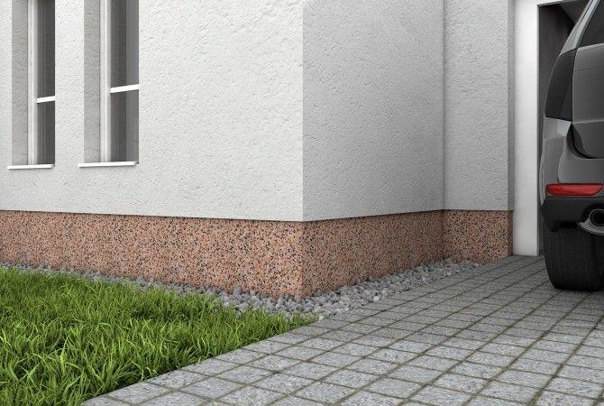 fassadensockel einfach selbst verputzen sakret diy projektplaner f r heimwerker pinterest. Black Bedroom Furniture Sets. Home Design Ideas
