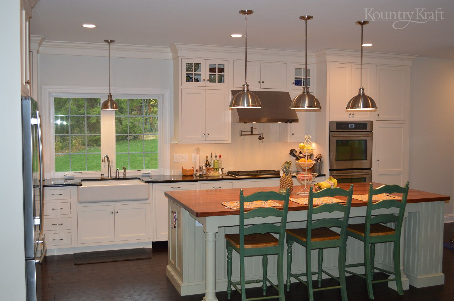 Custom Kitchen Cabinets Designed By Jessica Mcallister Of
