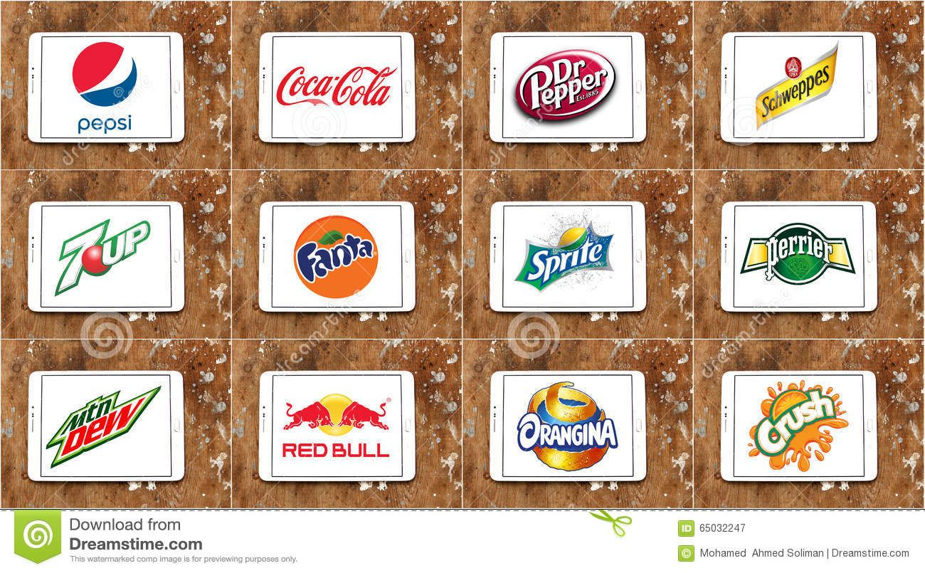 soft-drink-brands-logos-worldwide-drinks-manufacturers-white-tablet-rusted-wooden-background-like-pepsi-cocacola-dr-65032247.jpg (1300×805)