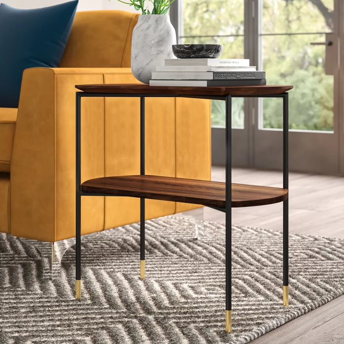 Posner End Table Reviews Allmodern End Tables With Storage Coffee Table Modern Furniture Living Room