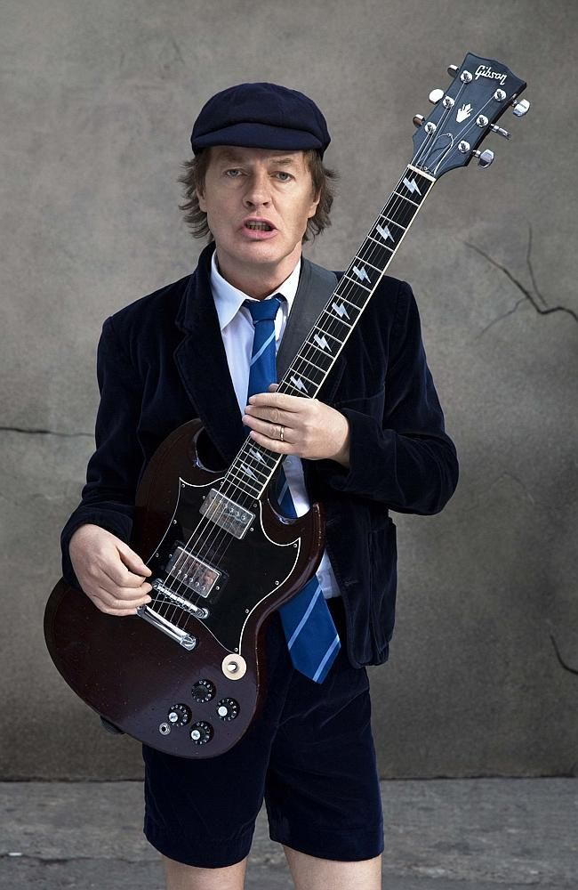 Image result for angus young
