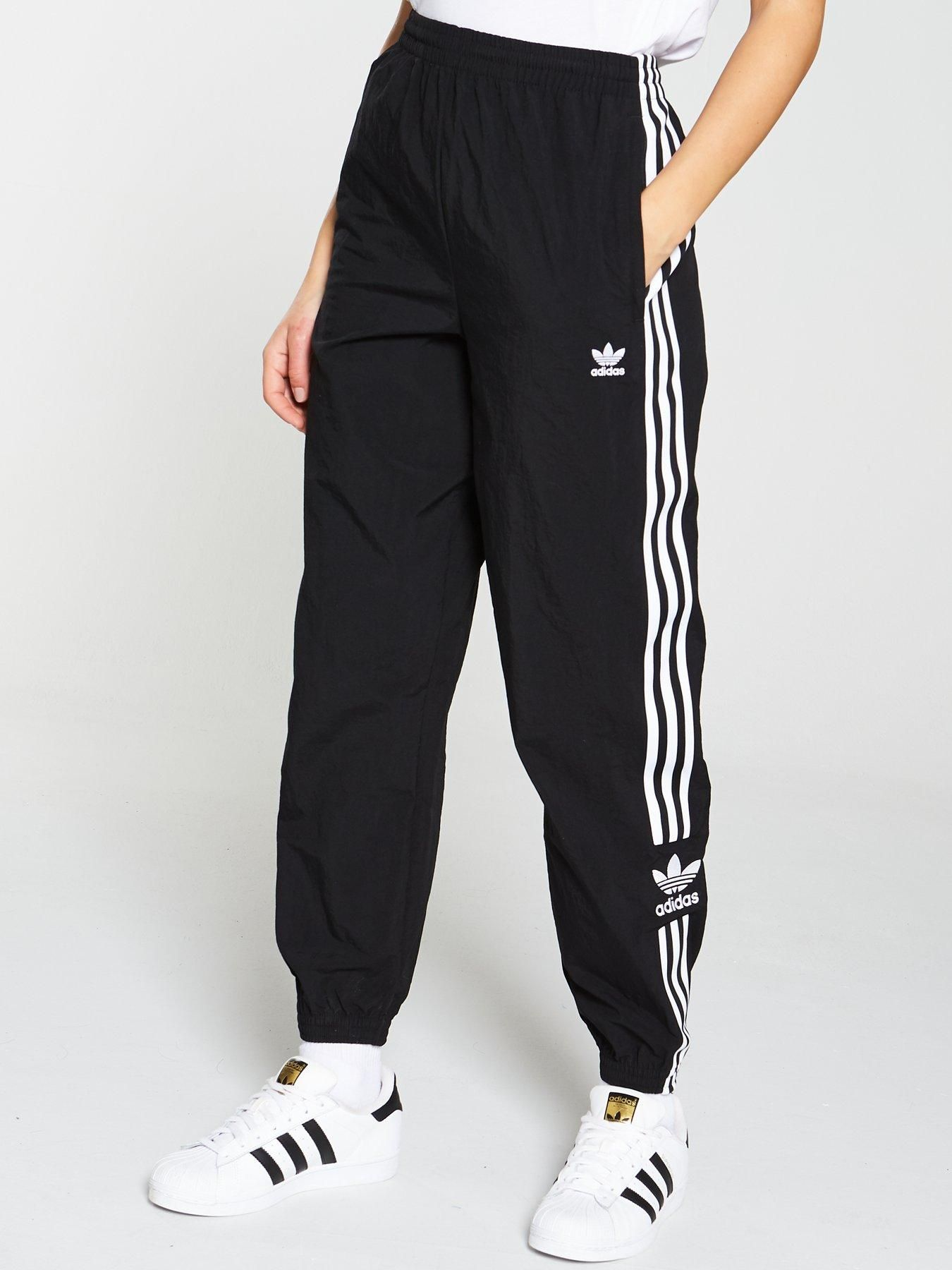 Adidas Originals Lock Up Track Pant Black in 2020 | Adidas